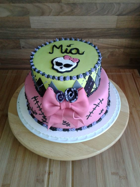 Geburtstag-Kinder » Monster High Torte