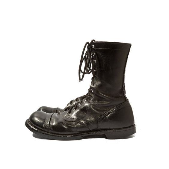 Vintage Combat Boots Corcoran Military Paratrooper Men's size 12 ...