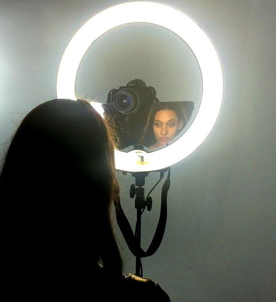 Stellar Mirror For 18 Quot Diva Ring Light Lighting Originals And Compact