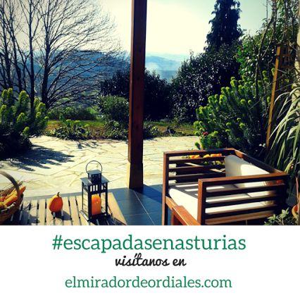 Disfrutando de un buen libro en el porche de nuestro #hotelrural en #Asturias ¿Te animas?  #hotelruralasturias #hotelconencanto #TravelersChoice2015 #habitacionesconvistas    www.elmiradordeordiales.com
