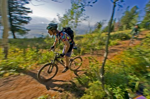 The trails finally dry and the rides are smooth and super fun!