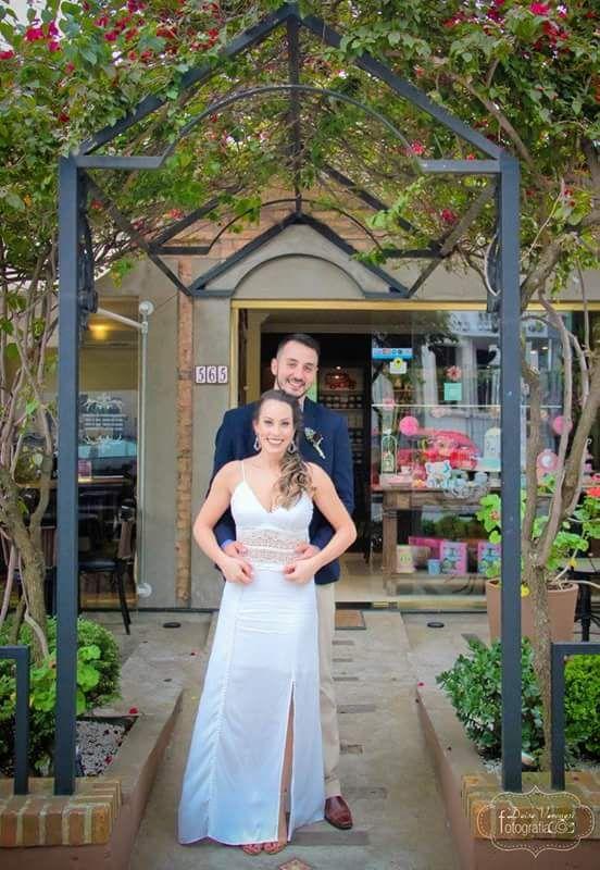 MIni wedding boho - noiva e noivo - vestido casamento boho rustico