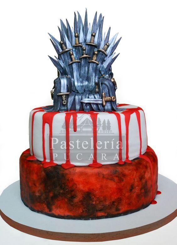 Torta diseño Juego de Tronos  Game of Thrones