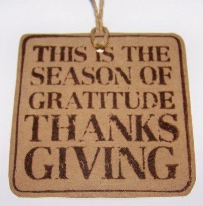 Holiday Gift Tag Thanksgiving Gift Tags Perfect by JsCraftyStudio, $3.00