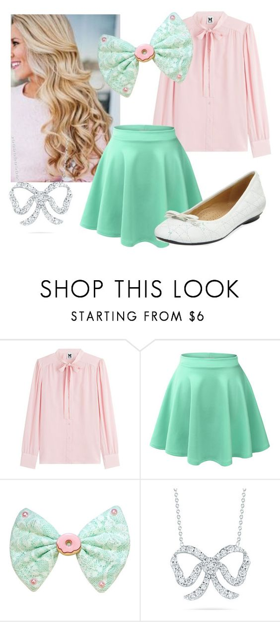 """""""Adorable and Preppy"""" by olivia-lupin ❤ liked on Polyvore featuring M Missoni, LE3NO, Roberto Coin and Neiman Marcus"""