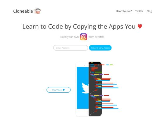 Cloneable is another fine #startup