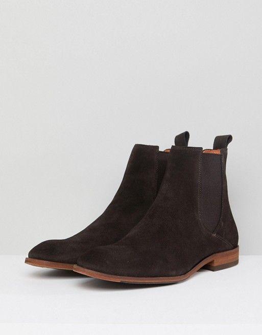 Zign | Zign Suede Chelsea Boots In