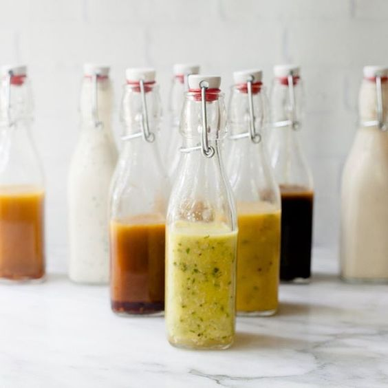 Kicking off the week with 8️⃣of my go-to healthy salad dressing recipes all in one spot. No need to buy bottled ever again