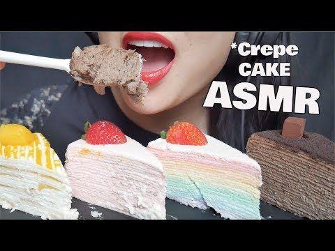 Asmr Crepe Cake Mango Rose Rainbow Chocolate Squishy Eating Sounds No Talking Sas Asmr Youtube Crepe Cake Asmr Crape Cake Asmr no nut november challenge are you. asmr crepe cake mango rose rainbow