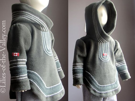 I love this coat from babywearing on Etsy