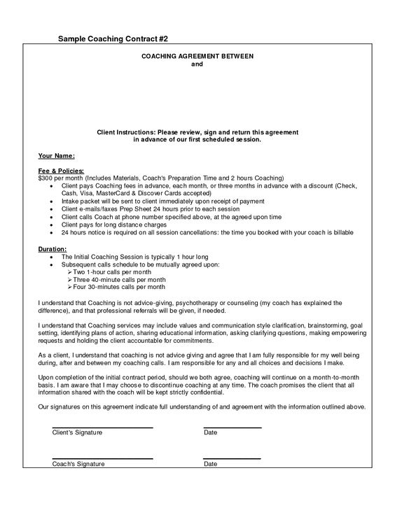 Twist Handoutdocx Fiber Arts Pinterest Twists - coaching contract template