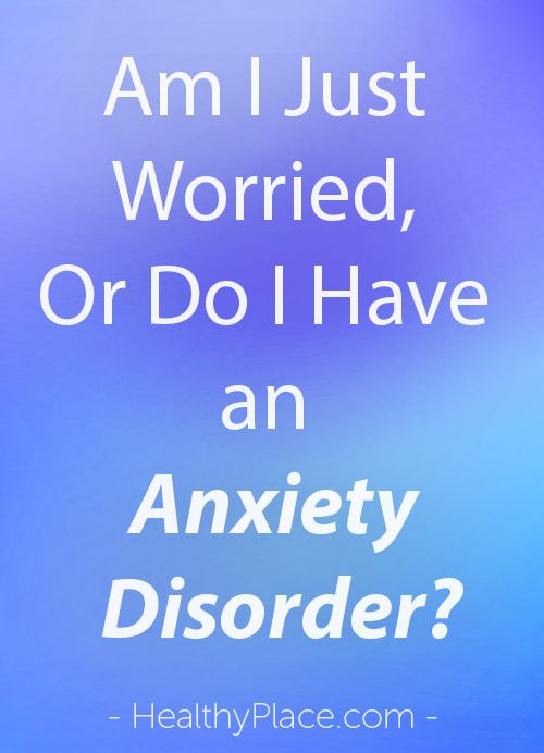 blog managing worry generalized anxiety disorder