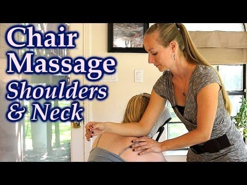 Massage Techniques for Neck & Shoulder Pain ASMR Relaxing
