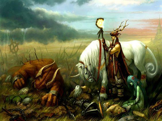 Fantasy Battle | 52044_Fantasy_Fantasy_-_Battle_Wallpaper.jpg