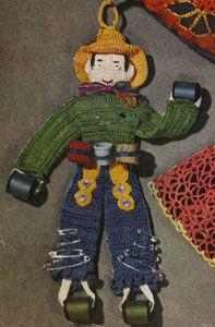 Johnny on the Spot, free vintage crochet pattern