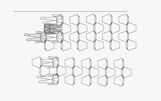 Hey Look the Most Nightmarish Idea for Plane Seating Ever