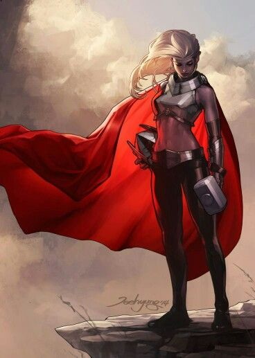 Gender alternative Thor? <<< Nope this is Marvel Now Thor, Jane Foster now holds the mantel of Thor: Goddess of Thunder