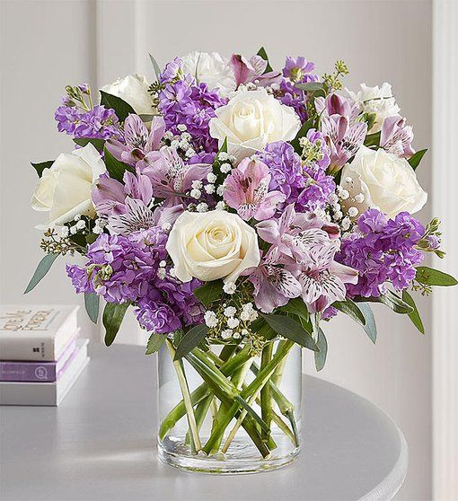 Lovely Lavender Medley Flower Delivery Flower Arrangements Birthday Flowers