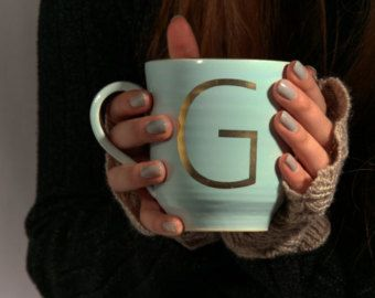 Initial   Mug ,Personalized mug ,Custom Mug , Monogram Mug ,his and her mug