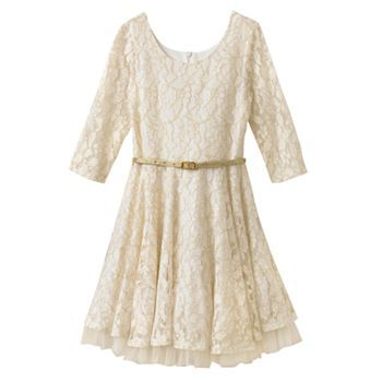 Knitworks Lace Skater Dress - Girls 7-16 34.80  Dresses ...