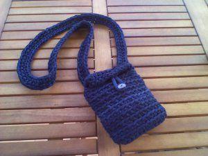 Bolso azul pequeño