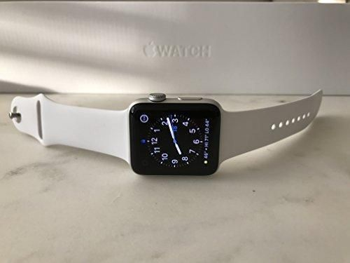 Apple Watch Series 2 42mm Silver Aluminum Case White Sport Band 1 5 Display Apple Apple Watch 38mm Apple Watch Band Apple Watch Series 2