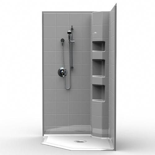 42 Neo Angle Shower Stall Multi Piece Made In Usa Remodelinghow