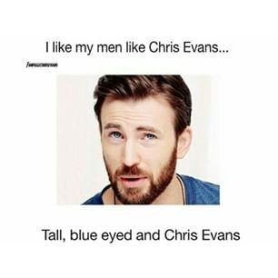 And lastly, this could not be more true. | 29 Times Chris Evans Ruined You For Other Men