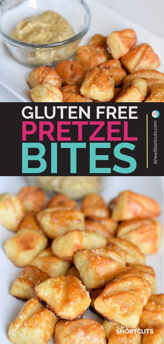 Gluten Free Soft Pretzel Bites Recipe