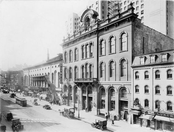 Tammany Hall, home of the Democratic Party political machine in New York City, 1914