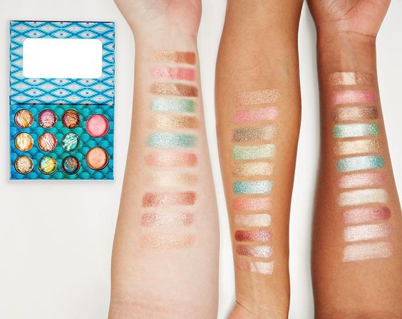 BH Cosmetics Wild and Alluring Palette Swatches