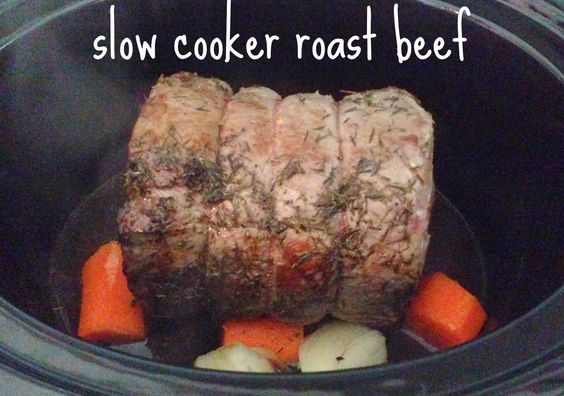 Slow cooker roast beef This is what I'm having for Christmas dinner!
