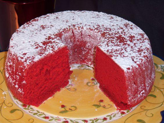 Red Velvet Pound Cake from the RedVelvetKitchen.com