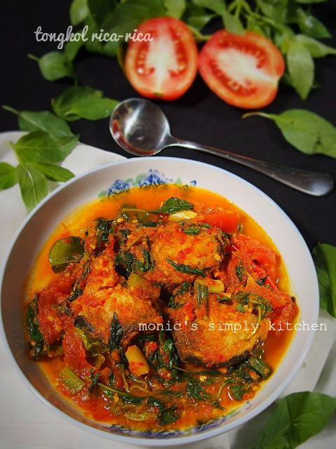 Ikan Tongkol Rica Rica Resep Masakan Resep Ikan Resep Makanan