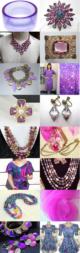 Radiant Orchid A GVS Team Treasury by Sally on Etsy--Pinned with TreasuryPin.com