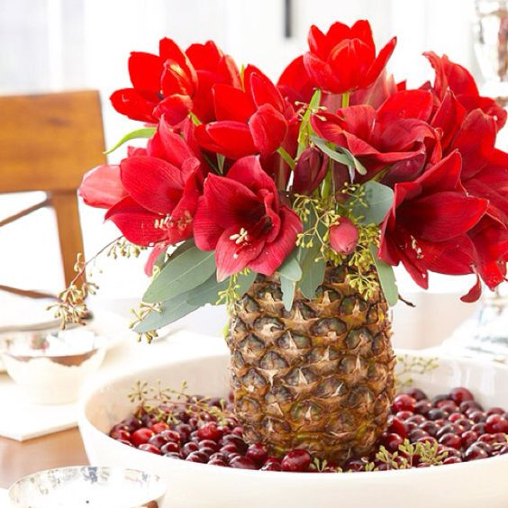Super creative centerpiece you can fill the bowl with for 15 creative vase fillers