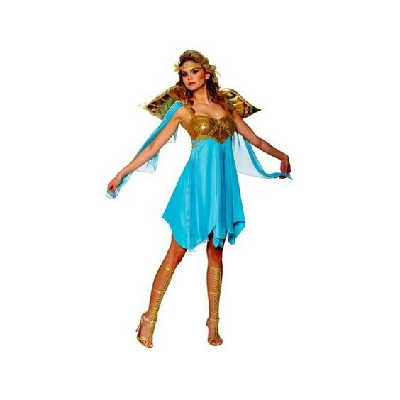 Women's Sexy Victory Goddess Costume (63 CAD) ❤ liked on Polyvore featuring costumes, ladies costumes, womens costumes, goddess costume, sexy halloween costumes und sexy womens halloween costumes