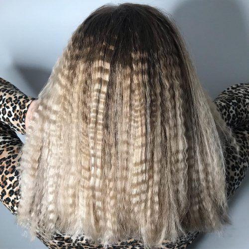 Big Crinkled Hair Gekrauseltes Haar Haare Frisuren