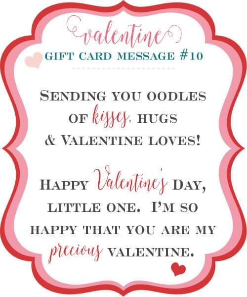 10 Sweet Valentine Gift Card Message Ideas In 2020 With Images