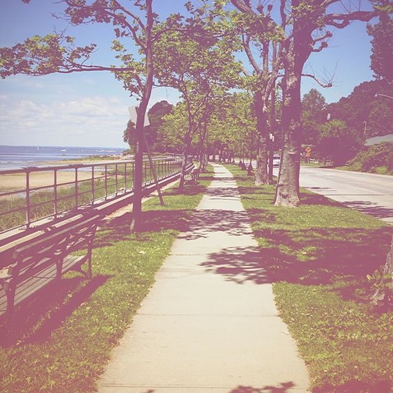 Roadway or pathway to a peaceful place - In the park #InThePark #Places #GetWeHeartPics