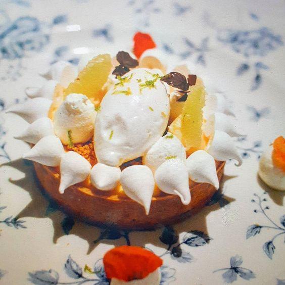 Throwback to my absolute favourite dessert so far this year. Yuzu and hazelnut Tart from @weslodgedubai