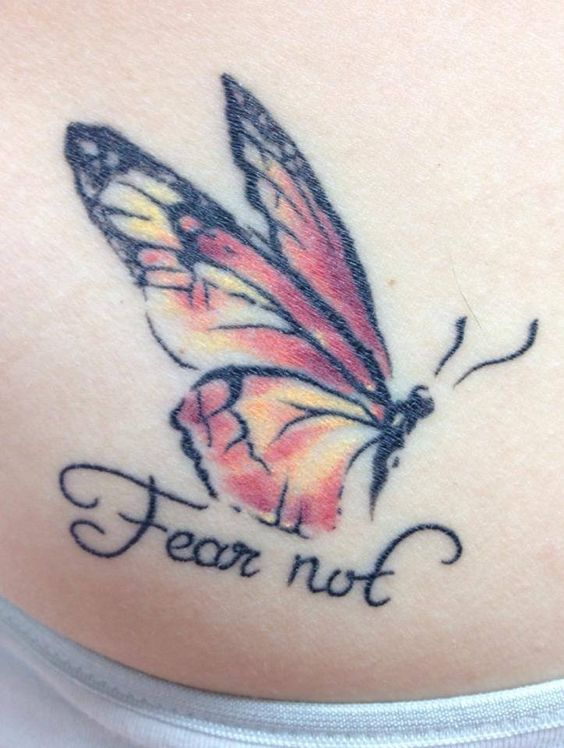 """Fear not, without change there would be no butterflies."""