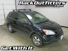 Honda CR-V Thule Rapid Podium BLACK AeroBlade Roof Rack '07-'11