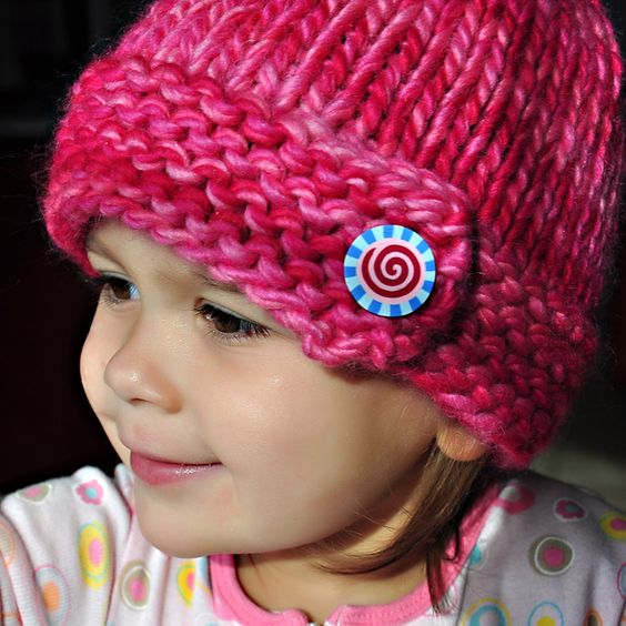 Chunky Hat ....free pattern (pattern is for adult. kids ...
