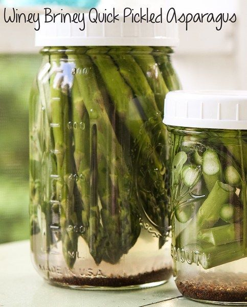 Pickled asparagus, Asparagus and Canning on Pinterest