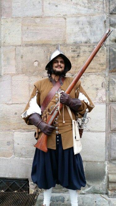 Musketier  17 Jahrhundert