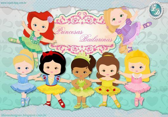 Boneca ballet Princesas bailarina