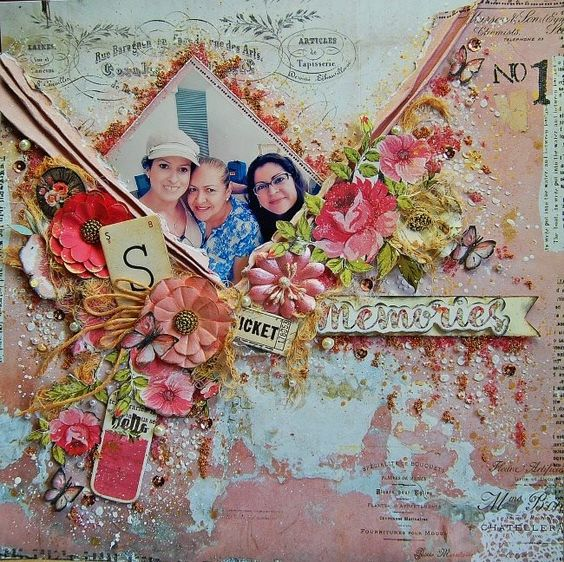 September Limited Edition kit by My Creative Scrapbook  2016 Rosi Belle collection by Prima Marketing