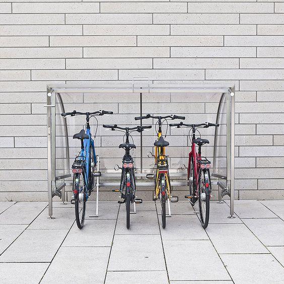 Cervotec   Funktionelle Fahrradgaragen mit Stil