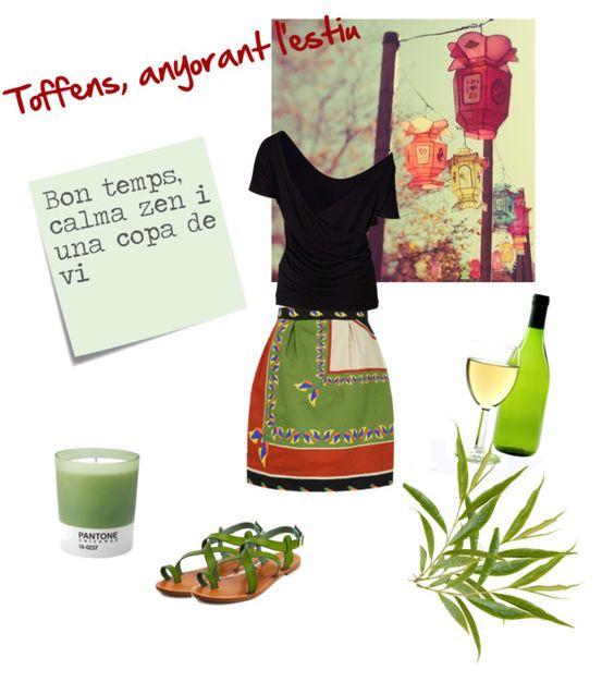 """Calma zen, anyorant l'estiu"" by toffens on Polyvore"